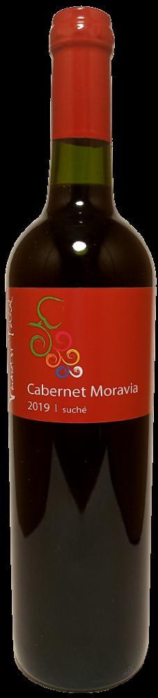 Cabernet Moravia 2019, suché