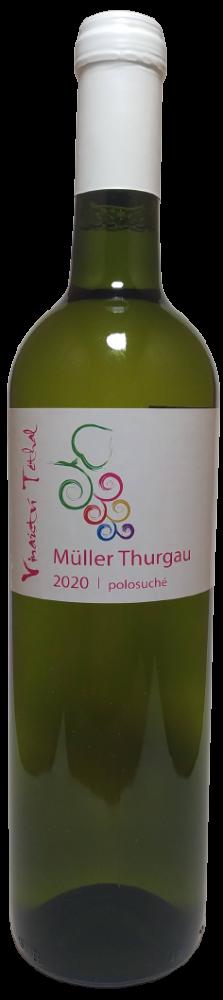 Müller Thurgau 2020, polosuché